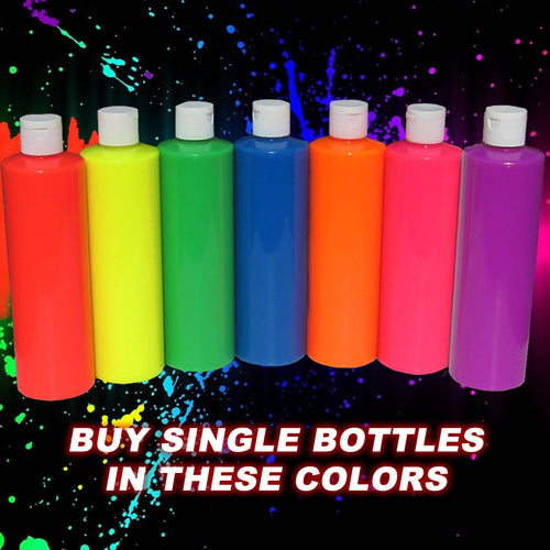 Neon Party Paint single bottle