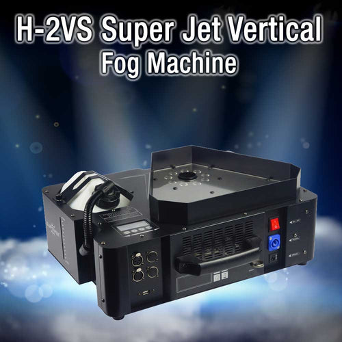 H2VS Super Jet Vertical Fog Machine