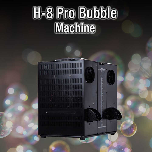 H8 Pro Bubble Machine