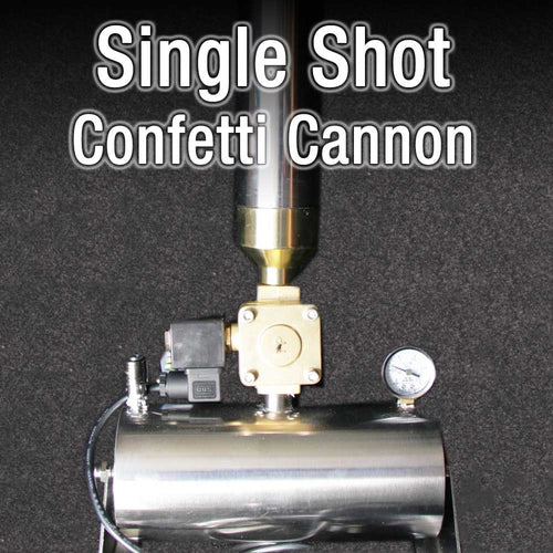 Single Shot Confetti Cannon