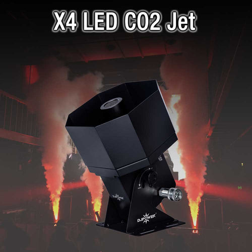 X4 LED CO2 HIRE