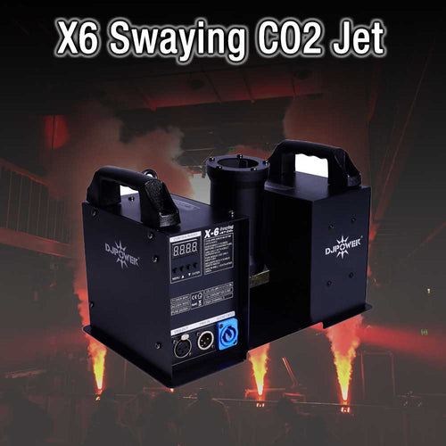 X6 Swaying CO2 Jet HIRE