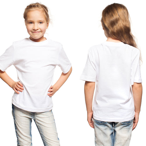 Basic Kid's White Tee