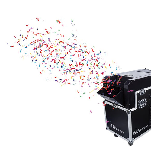 HR1 Speed Changing Confetti Machine HIRE