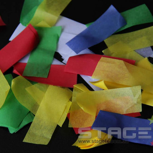 Confetti Rectangle Paper (1kg)
