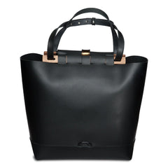 Large Tote with Round Flap