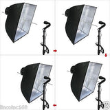 Linco Studio Photo Backdrop Muslin Studio Umbrella Lighting Bulb Light Kit