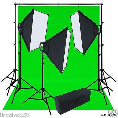 Linco Lincostore Studio Lighting Photography Backdrop Stand Boom Light Kit