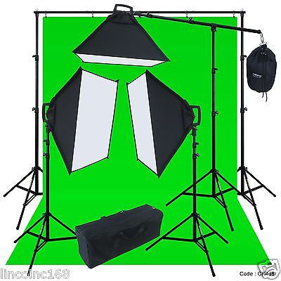 Linco Lincostore Studio Lighting Photo Backdrop Stand Boom Light Kit