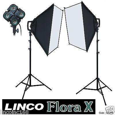 Studio Lighting Photo Video Light Kit Linco Flora X