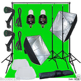 Linco Lincostore Studio Lighting Strobe Flash Photo Backdrop Light Stand Kit