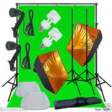 Linco Lincstore Mini Studio Lighting Photography Softbox Light Stand Kit
