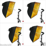 Studio Lighting Photography Video Softbox Umbrella Light Kit Peno