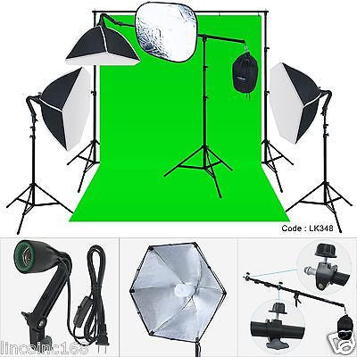 Photo Studio Lighting Light Kit-LINCO Cirrus/Morning Glory/ZENITH Holder