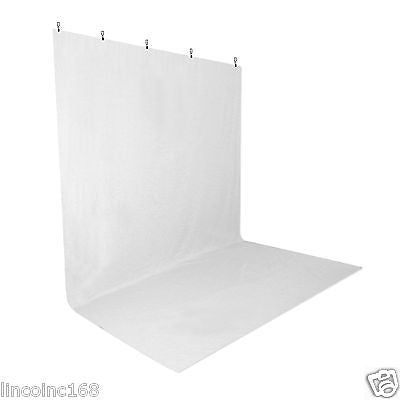 White Screen Muslin Backdrop Muslin W/ Clamps For Photography Backdrop Stand Kit
