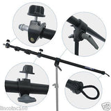 Studio Video Strobe Flash Lighting Light Stand Boom Umbrella Kit