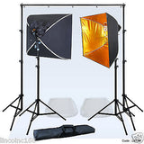 Linco Lincstore Mini Studio Lighting Backdrop Stand White Photo Background Kit