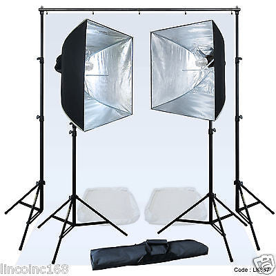 Linco Lincostore Studio Lighting Strobe Flash Photo Video Light Kit