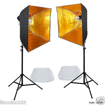 Linco Lincostore Studio Lighting Strobe Flash Photo Softbox Portrait Light Kit