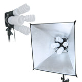 Flora Light Bank & Flora X Light Bank Combo with Exclusive Easy Softboxes. Light Stands, Bulbs & Bag included.
