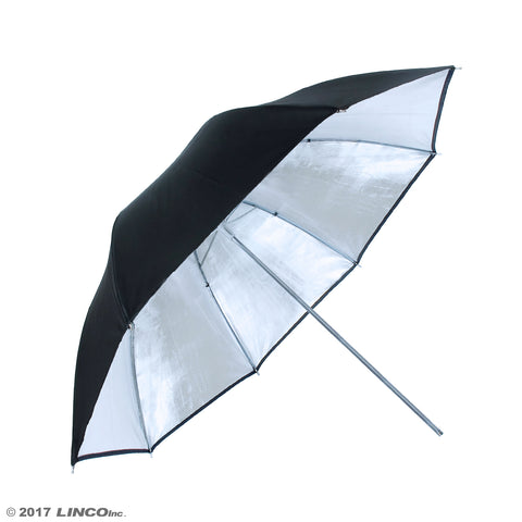 "32"" Photography Studio Silver Umbrella Reflector"