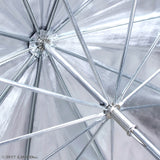 "60"" Professional Photography Studio Silver Premium Umbrella Reflector"
