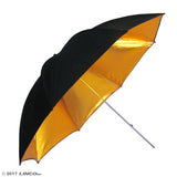 "32"" Photography Studio Gold Umbrella Reflector"