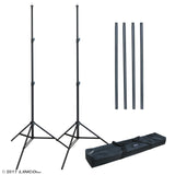 Photography 10Ft Adjustable Background Support Stand Photo Backdrop Crossbar Kit 4151-4236