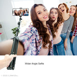 Selfie Stick Family Video Call Business Multiplayer Conference Call C004B-4
