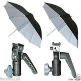 "Linco 52"" Black&White Studio Lighting Bracket Photo Umbrella Kit Studio Lighting"