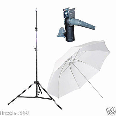 Light Stand & Flash Bracket Mount & Umbrella / Speedlite Flash Accessories Kit B