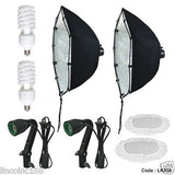 "24"" Photography Photo Equipment Softbox Studio Light Lighting Kits"