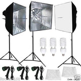 3PCS Linco Studio Softbox Studio Video Photo Lighting Photography Light Kit