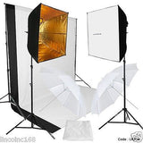 Studio Backdrop Kit Light Lighting Photography Studio New Design Softbox Stand