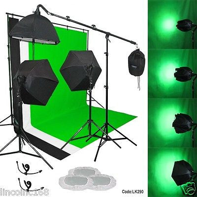 Photography Linco Studio Backdrop Stand Lighting Background Support Boom LK290