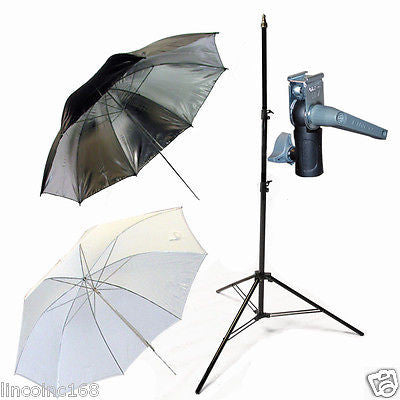 Light Stand & Flash Bracket Mount & Umbrella / Speedlite Flash Accessories Kit F