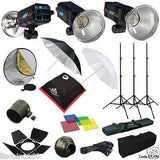 1050W Strobe Studio Flash Light Kit Lighting Set Photography CK106