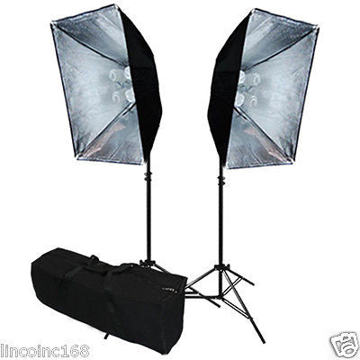 Linco Studio Softbox Light Kit Photography Video Studio Lighting Kit