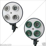 Ceramic Protector & Cap for Photography Studio Lighting Kit Light Head -4 of Set