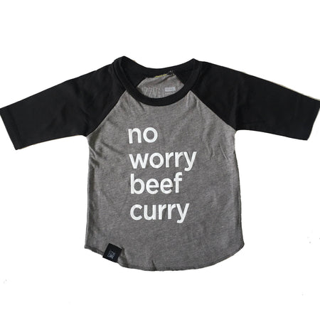 3/4 Sleeve No Worry Beef Curry