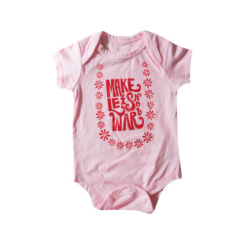 Make Leis Not War Onesie