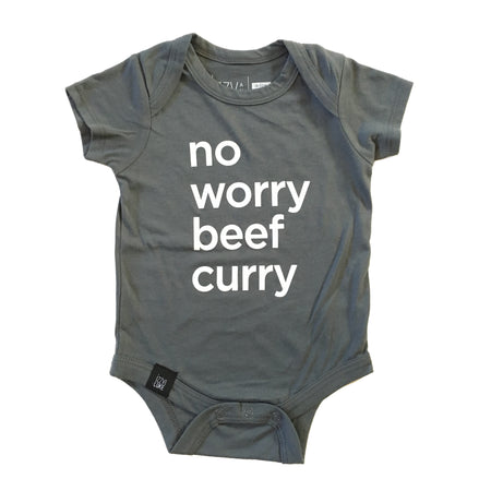 No Worry Beef Curry Onesie