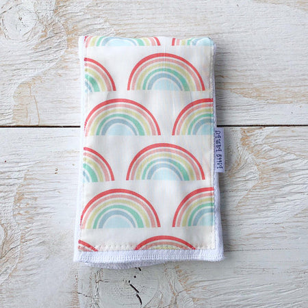 Rainbows Burp Cloth