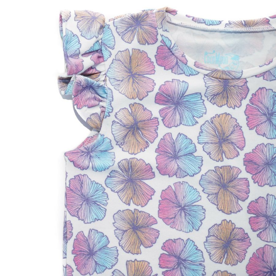 Sea Flower Flutter Tee
