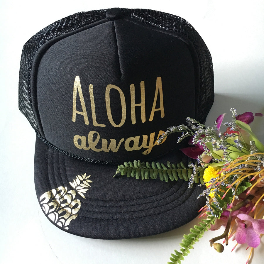 Aloha Always Toddler Trucker Hat