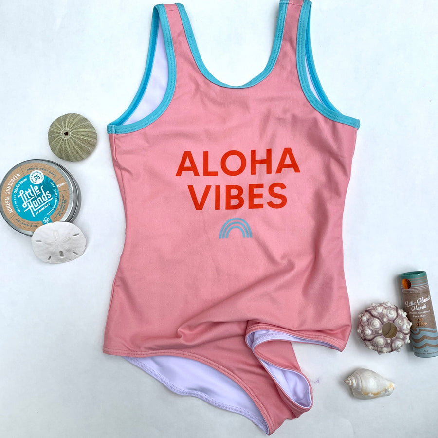 PRE-ORDER Aloha Vibes Swimsuit