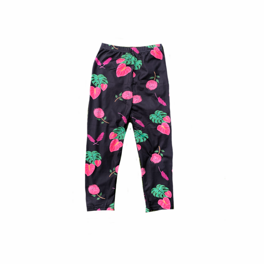 Tropical Flowers Keiki Leggings
