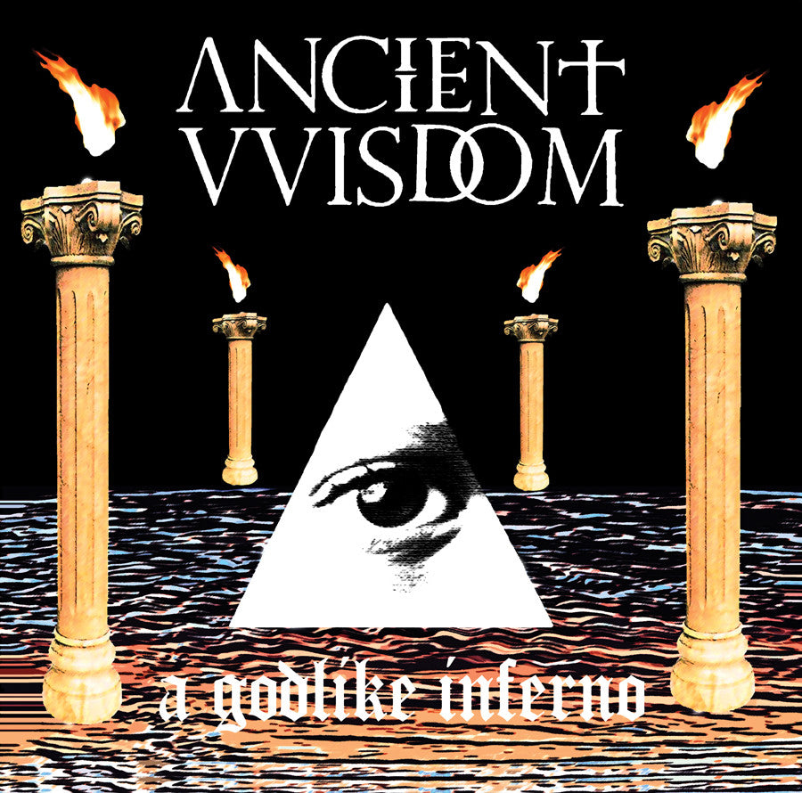 "ANCIENT VVISDOM ""A Godlike Inferno"" LP"