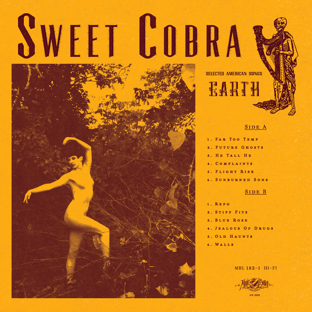 "SWEET COBRA ""Earth"" LP"