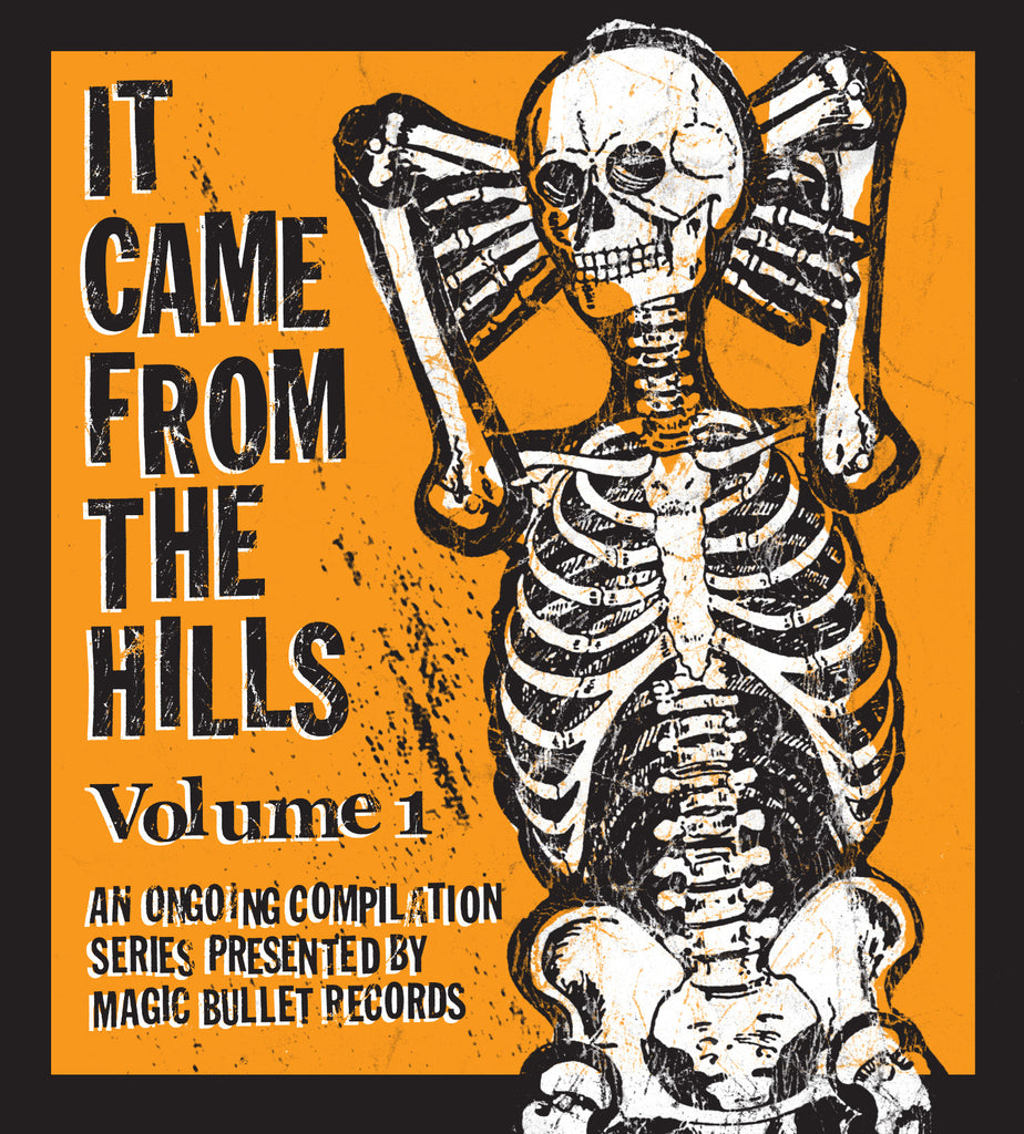 "V/A ""It Came from the Hills"" (Vol. 1) CD compilation"